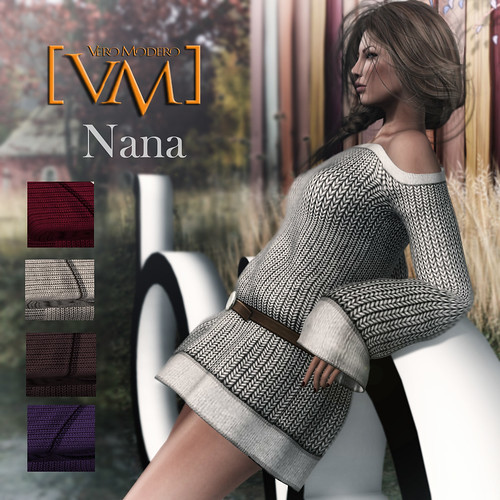 [VM] VERO MODERO Nana Knit Dresses colours