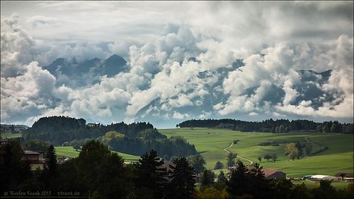 italien wolken alpen trentino gebirge trient nonstal nonsberg nonsberggruppe