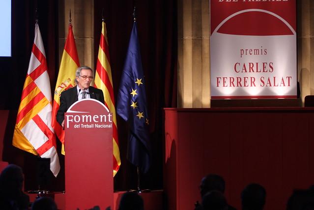 Lliurament des Premis Carles Ferrer Salat
