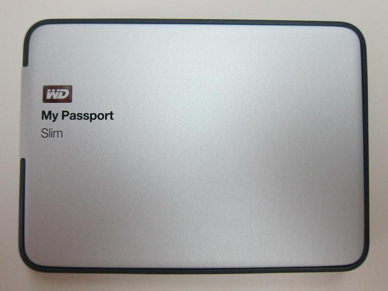 Western Digital My Passport Slim (1TB) - Top View