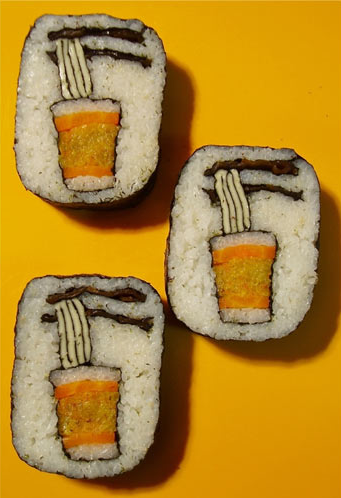 Takayo Chiyota, aka Tama-chan, sushi art