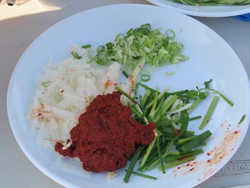 Kimchi Ingredients