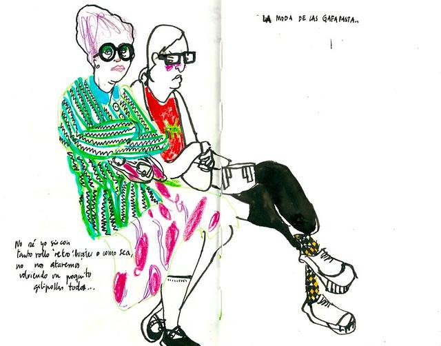 La moda de las gafapasta...