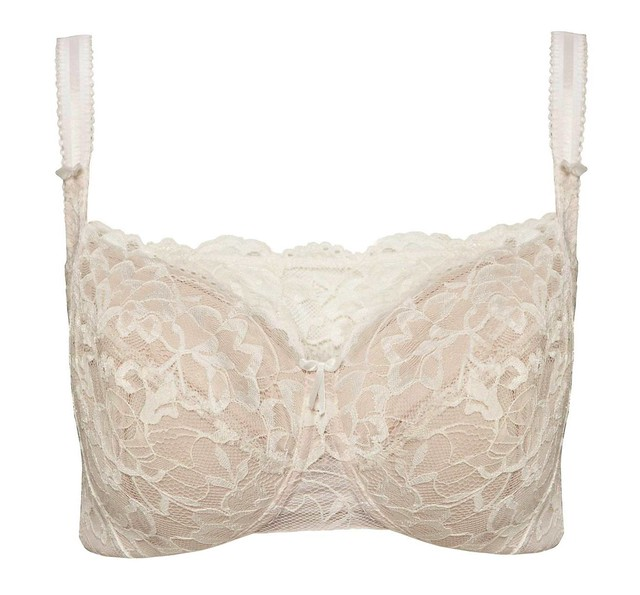 Post-Surgery Overlaid Floral Lace Bra (Php 1950)