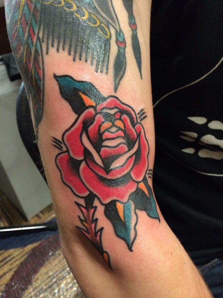 Rose by Bert Krak ~ Smith Street Tattoo