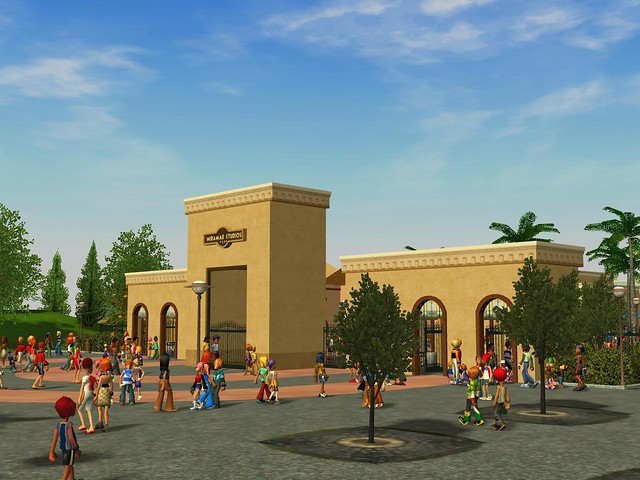 Miramar Studios Park - Main Entrance