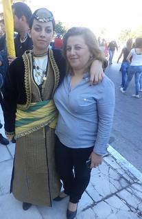 Σύλλογος Ποντίων Χανίων Η Ρωμανία παρέλαση 28ης Οκτωβρίου 6