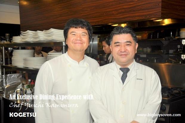 Chef Yuichi Kamimura at Kogetsu 14