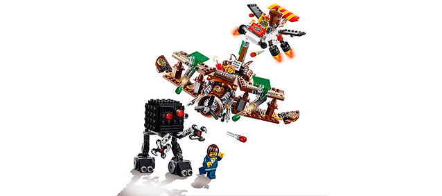 LEGO Movie 70812 - Westernplane