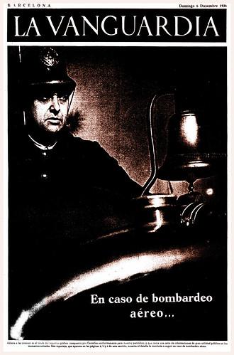 La Vanguardia, 6 de diciembre de 1936, foto Agustí Centelles. by Octavi Centelles