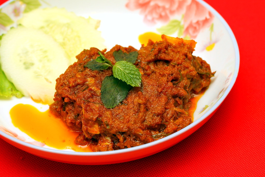 Ivy's Nyonya Cuisine: Beef Rendang