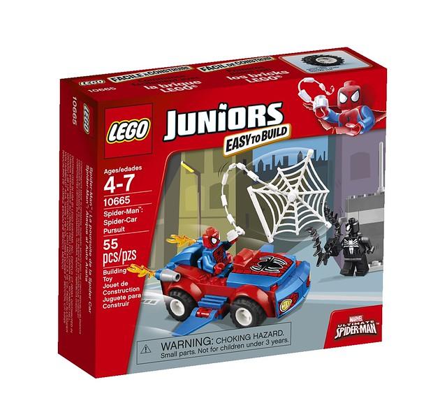 LEGO Juniors 10665 - Spider-Man Spider-Car Pursuit