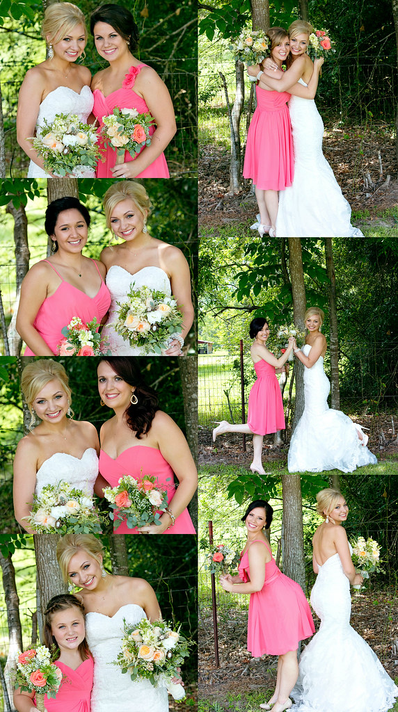 bridesmaids collage