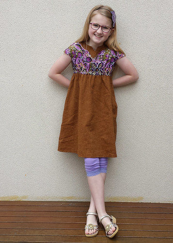 Oliver + S Roller-skate Dress, size 8 for Clare