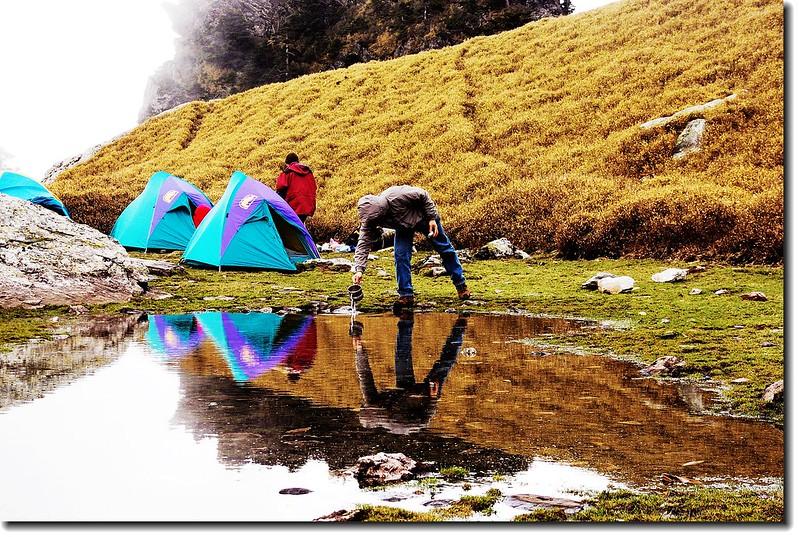 大腳印營地(月形池) 3