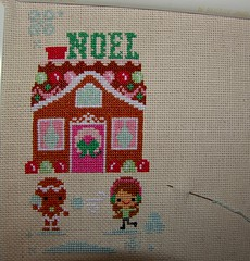Gingerbread Lane stitch along 2013