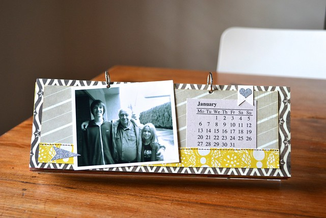 2014 photo calendar by Nathalie