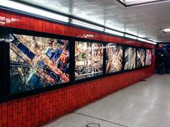 MTA Arts & Design's Lightbox Exhibit at Bowling Green