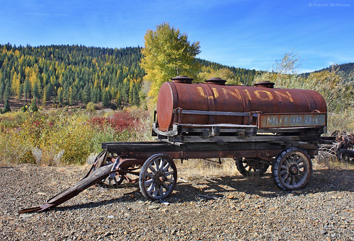 Old Time Oil Wagon - Eastern Oregon