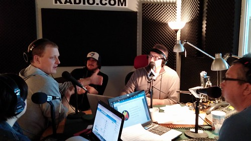 Hanging with Toddy Tickles on Humble and Fred @iamtoddytickles @humblefredradio