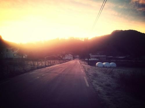 sunrise traktoregg flikka flickrandroidapp:filter=mammoth