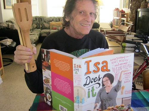 HAPPY NEW YEAR from Paul Krassner ~ photograph by Nancy Cain