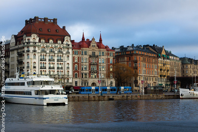 Stockholmer Stadtszene
