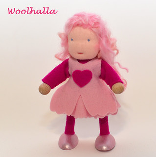 Valentine-themed Dollhouse Doll Sweet Pea