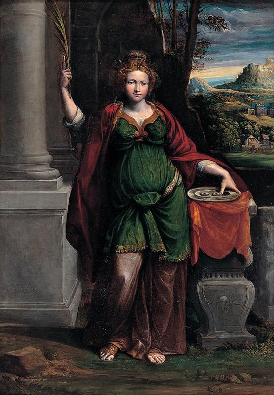 Garofalo - Saint Lucy (c.1535)