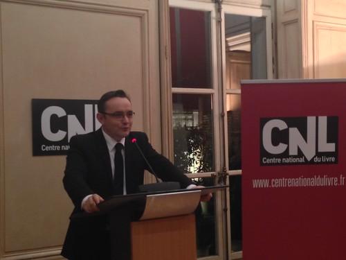Vincent Monadé, président du Centre national du livre