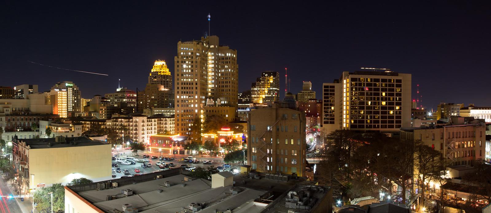 Downtown San Antonio Panoramic Photos Jcutrer Com