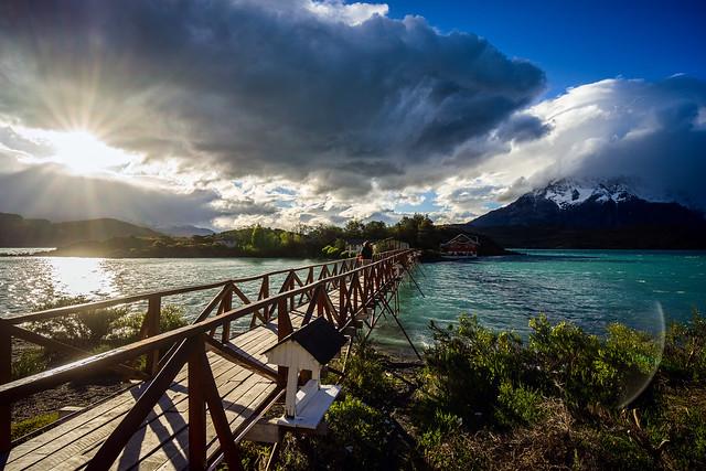 Lago Pehoe, Torres Del Paine, Patagonia, Chile