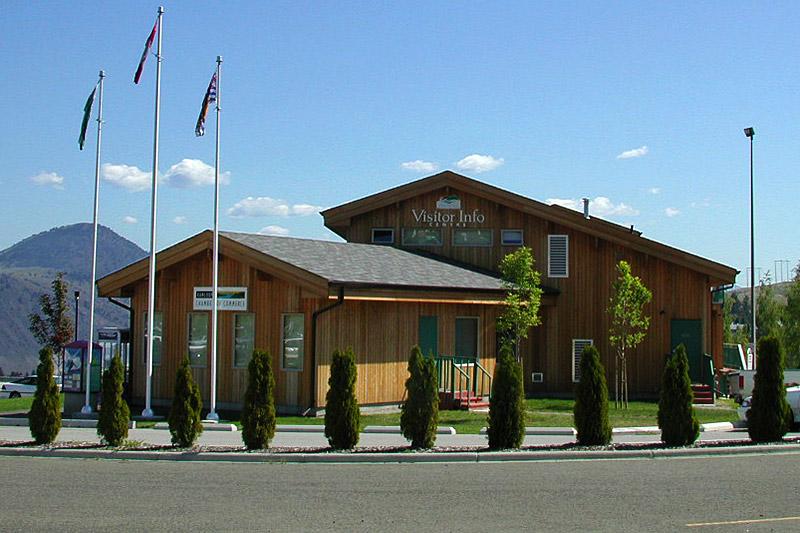 Kamloops Visitor Centre, Kamloops, Thompson Valley, Thompson Okanagan, British Columbia, Canada