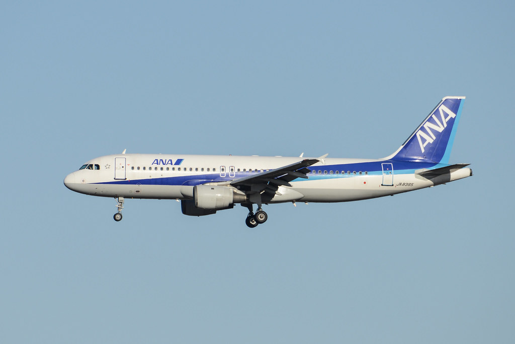 ANA A320 JA8395