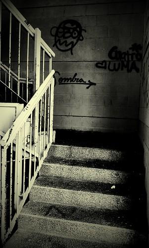 Mensajes en la escalera by txindoki