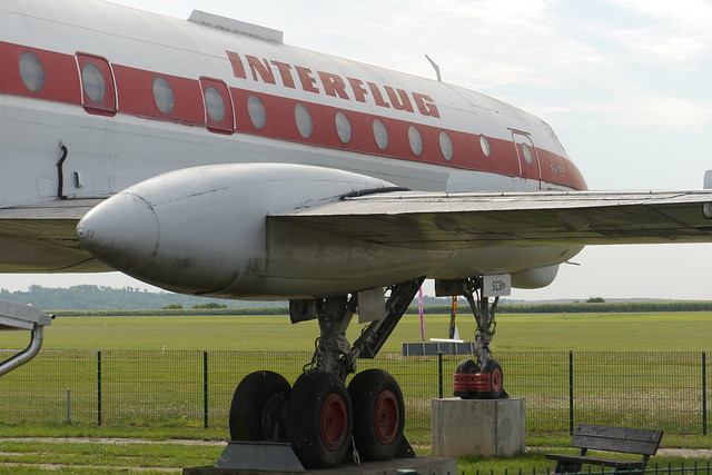Fahrwerk: Tu-134