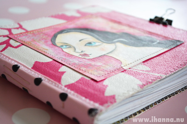 Sketchbook journal by Malin of Miss Kitten Heart - Copyright Hanna Andersson
