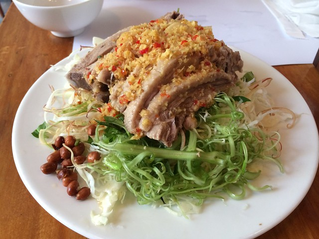 Cabbage salad with boiled duck - Duck Deli