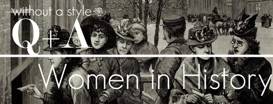 Q+A, Bloggers, women, history, morris, paul, earhart,