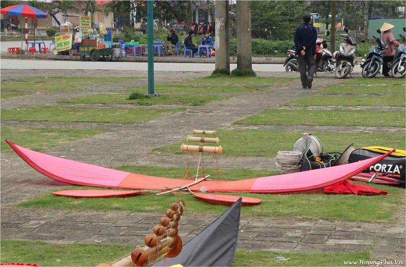 Diều sáo của CLB Diều An Khánh - Festival Diều Bắc Ninh 2014