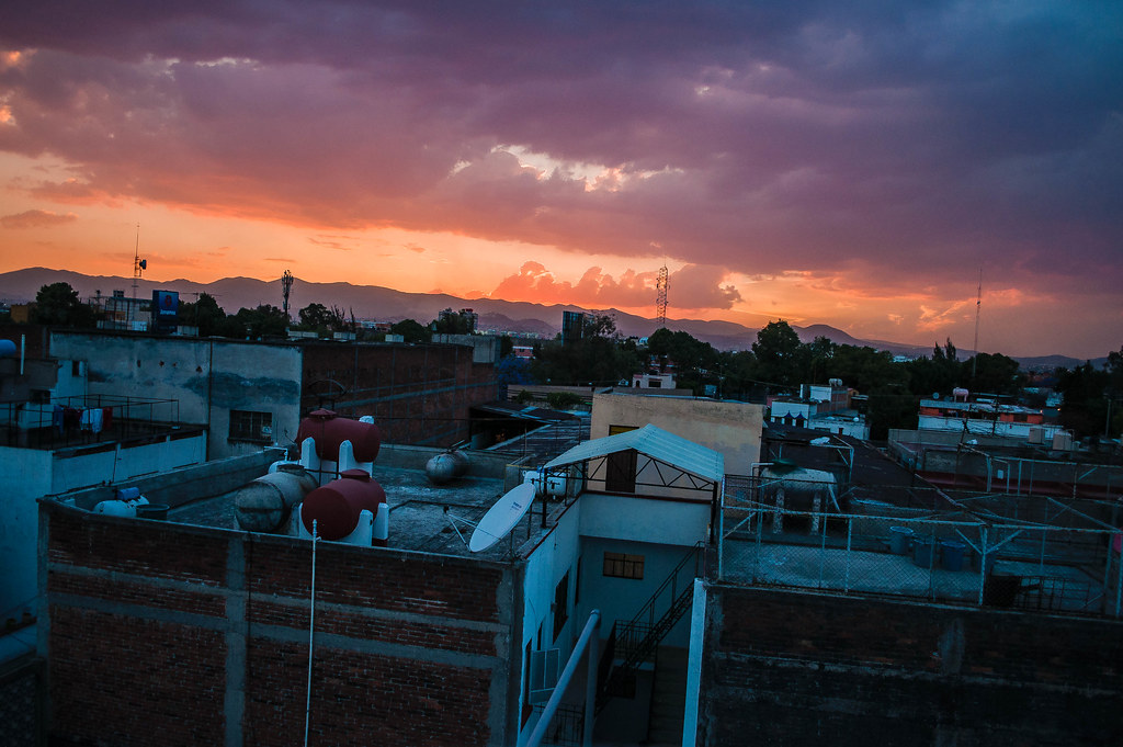 13373484903 d8528461d6 b Prueba de foto hdr atardecer en la ciudad de Mexico