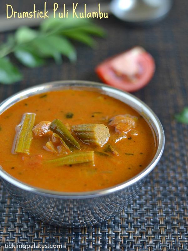 Murungakkai Puli Kulambu Recipe