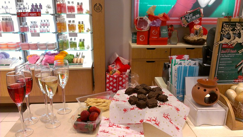 The Body Shop Christmas Party