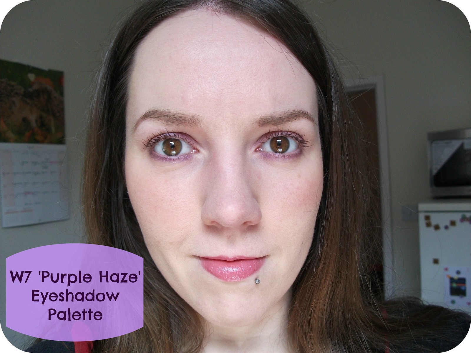 FOTD W7 Purple Haze