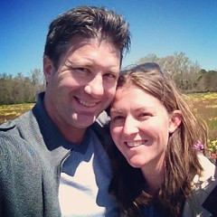 Beautiful afternoon in a field of wildflowers with my love.