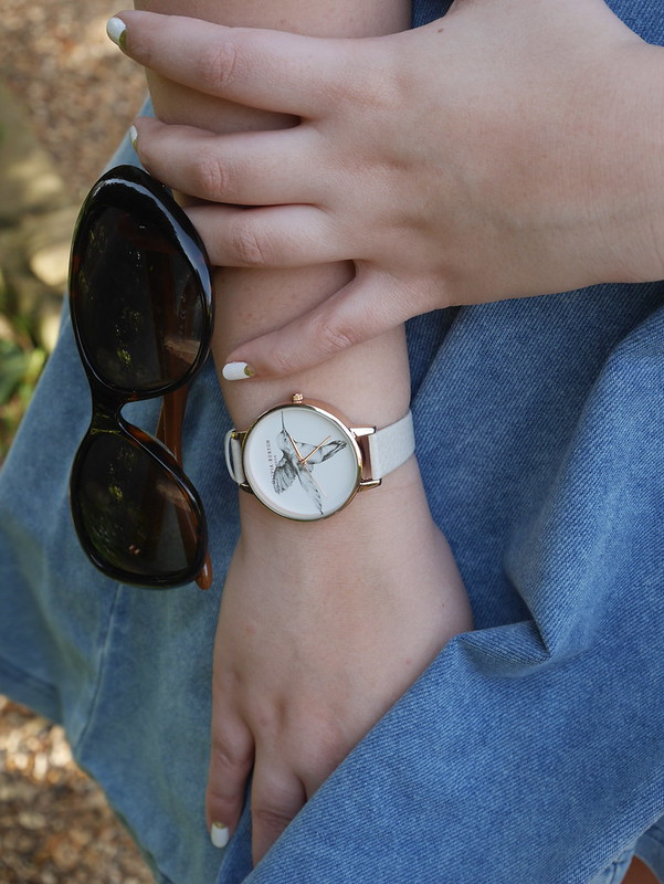 Olivia Burton Hummingbird Watch Marc Jacobs Sunglasses
