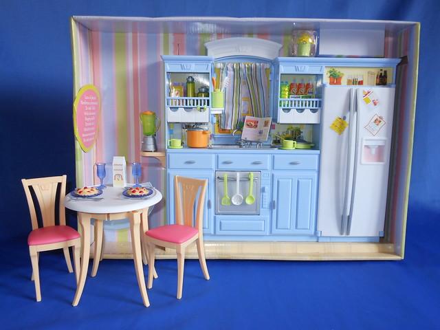 Barbie decor collection kitchen set 2005 flickr for Kitchen decor collections