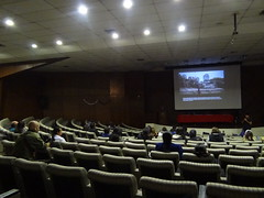 movie theater(1.0), convention(1.0), auditorium(1.0), audience(1.0), conference hall(1.0), meeting(1.0),