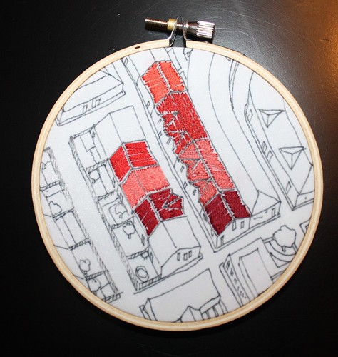Doodle Stitch Along - City Roofs