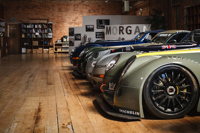 Pistonheads Sunday Service at the Morgan Factory
